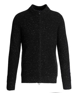 Patrick Assaraf Zip-Up Cashmere Sweater