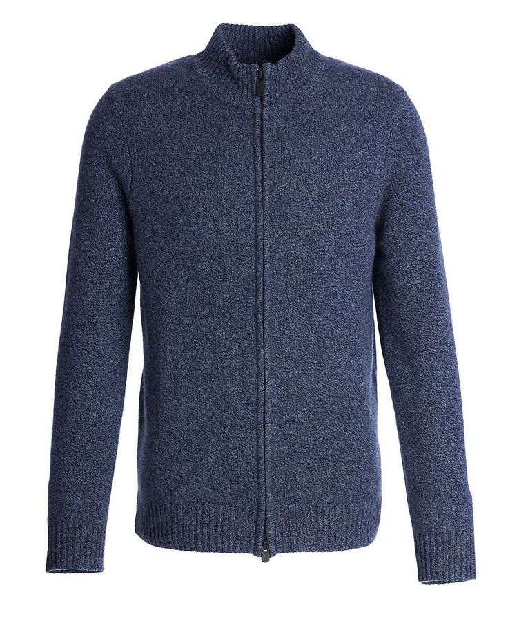 Zip-Up Cashmere Sweater image 0