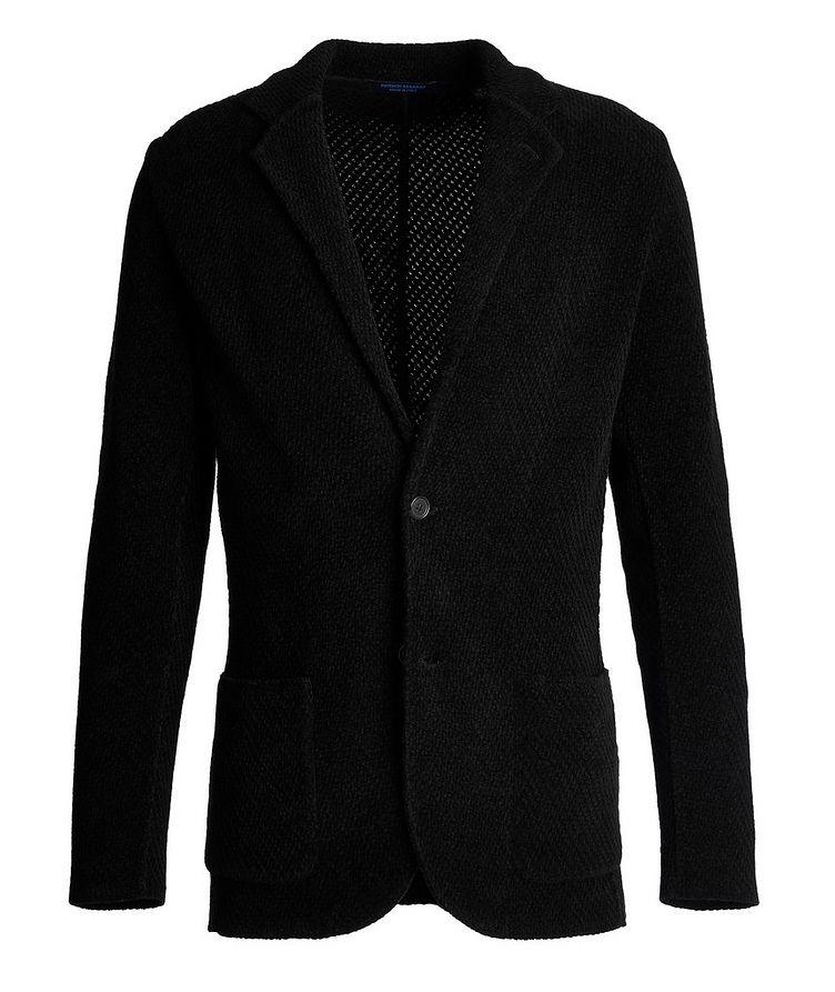 Merino-Cotton Sweater Jacket image 0