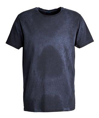 Patrick Assaraf Tie-Dye Pima Cotton-Stretch T-Shirt