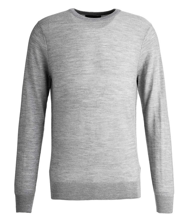 Merino Wool Piqué Sweater image 0