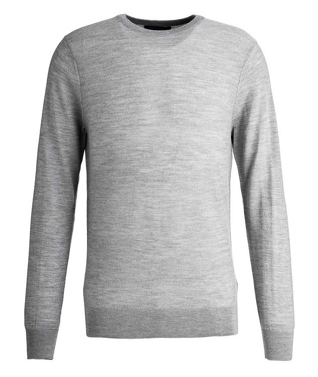 Merino Wool Piqué Sweater picture 1