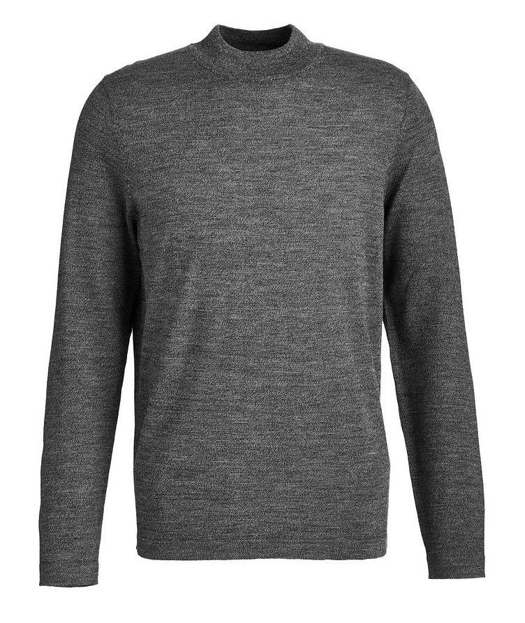 Merino Wool Mock Neck Sweater image 0