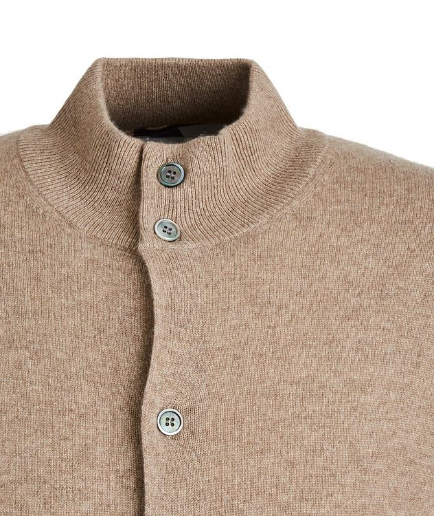 Combed Cashmere Cardigan picture 2