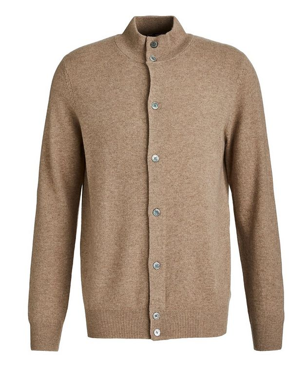 Combed Cashmere Cardigan picture 1
