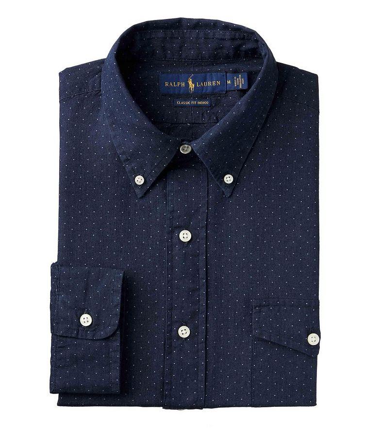 Polka-Dot Cotton Shirt image 0