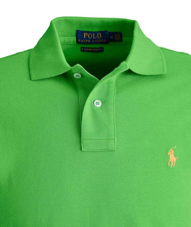 Slim-Fit Cotton Polo image 2
