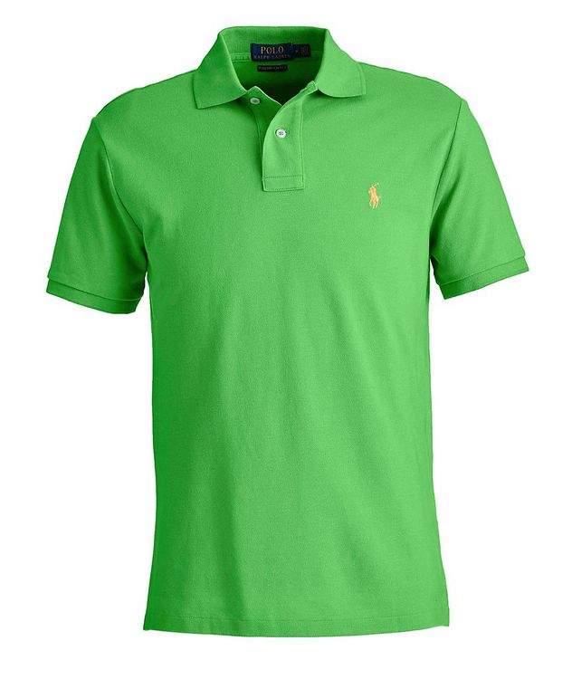 Slim-Fit Cotton Polo picture 1