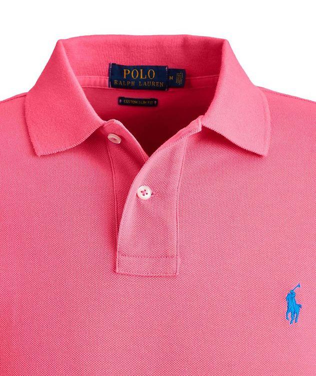Slim-Fit Cotton Polo picture 3