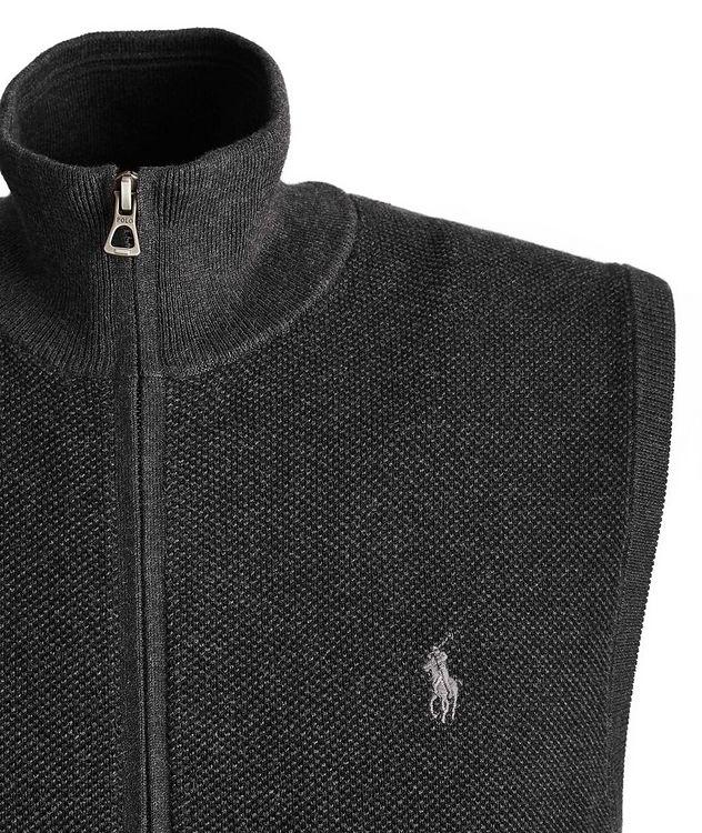 Zip-Up Cotton Vest picture 2