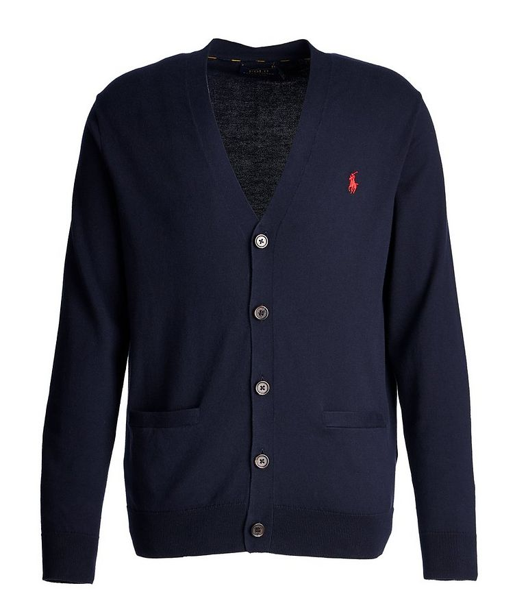 Cotton-Jersey Cardigan image 0