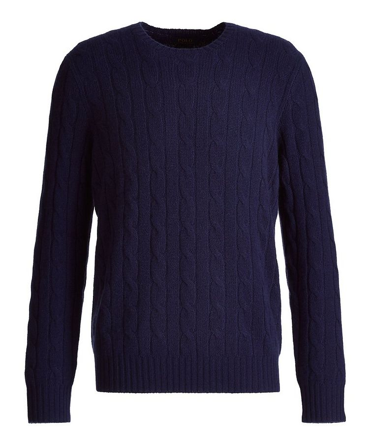 Cable-Knit Cashmere Sweater image 0