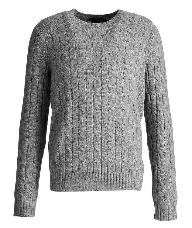 Pull en tricot torsadé de cachemire picture 1