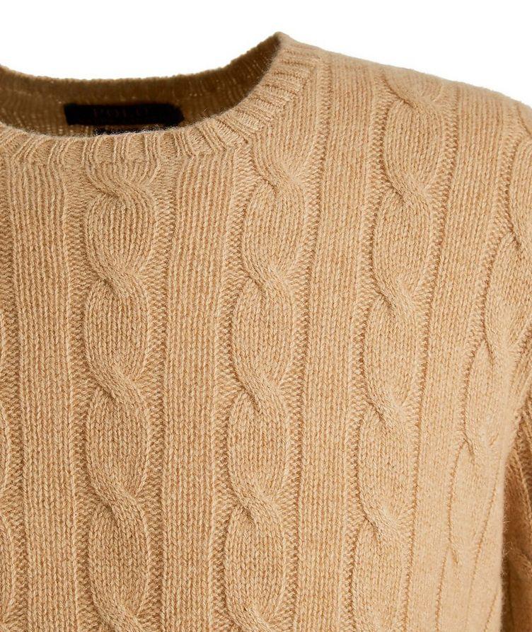 Pull en tricot torsadé de cachemire image 1