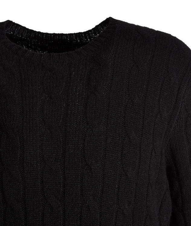 Pull en tricot torsadé de cachemire picture 2