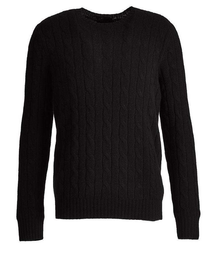 Pull en tricot torsadé de cachemire image 0