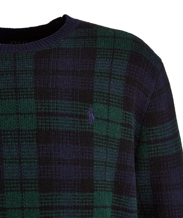 Plaid Wool Sweater picture 2