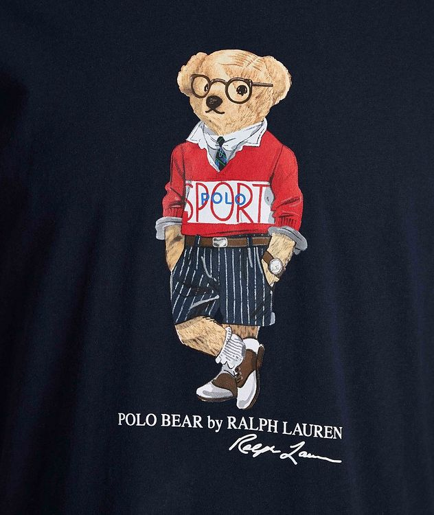 Polo Bear Cotton Hoodie picture 3