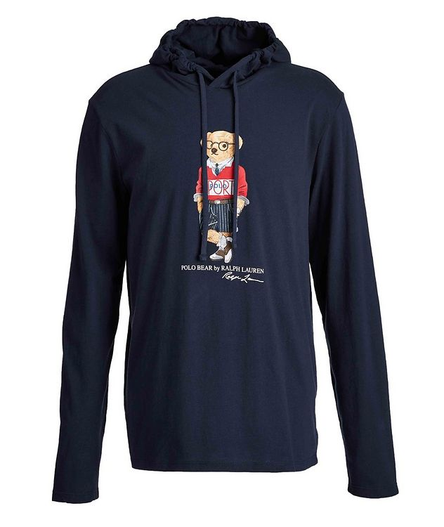 Polo Bear Cotton Hoodie picture 1