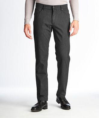 Brax Pantalon Cooper Fancy Flex à rayures