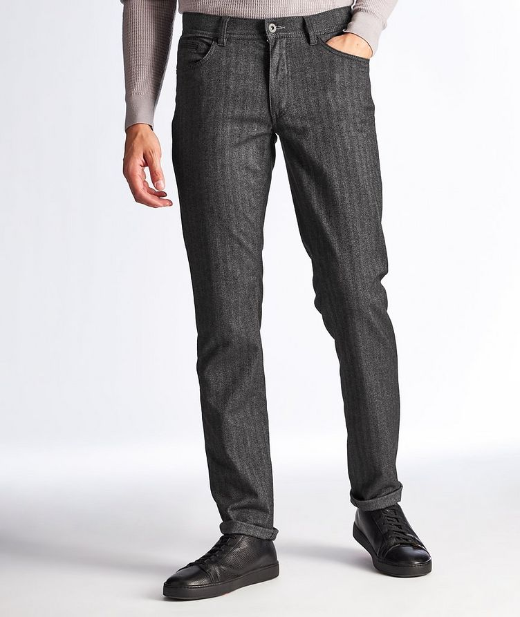 Woo.look 3.0 Cooper Fancy Herringbone Pants image 0