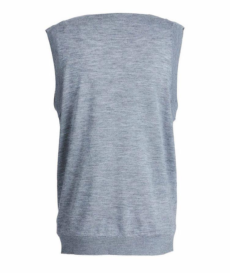 Extra-Fine Merino Wool Vest image 1