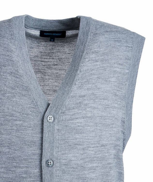 Extra-Fine Merino Wool Vest picture 3