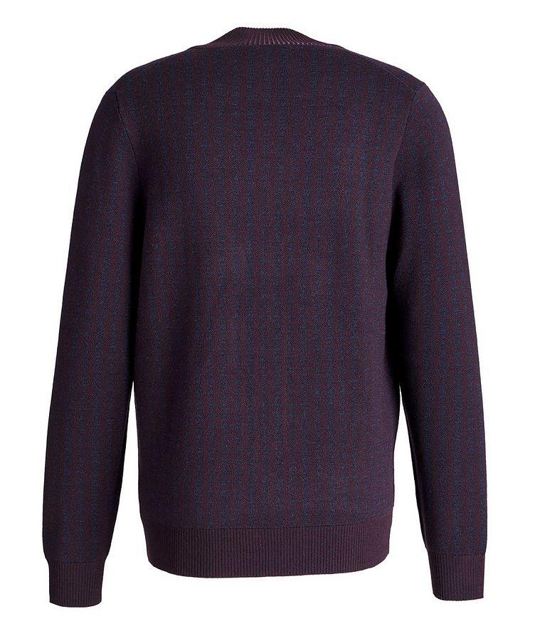 Zip-Up Extra-Fine Merino Sweater image 1
