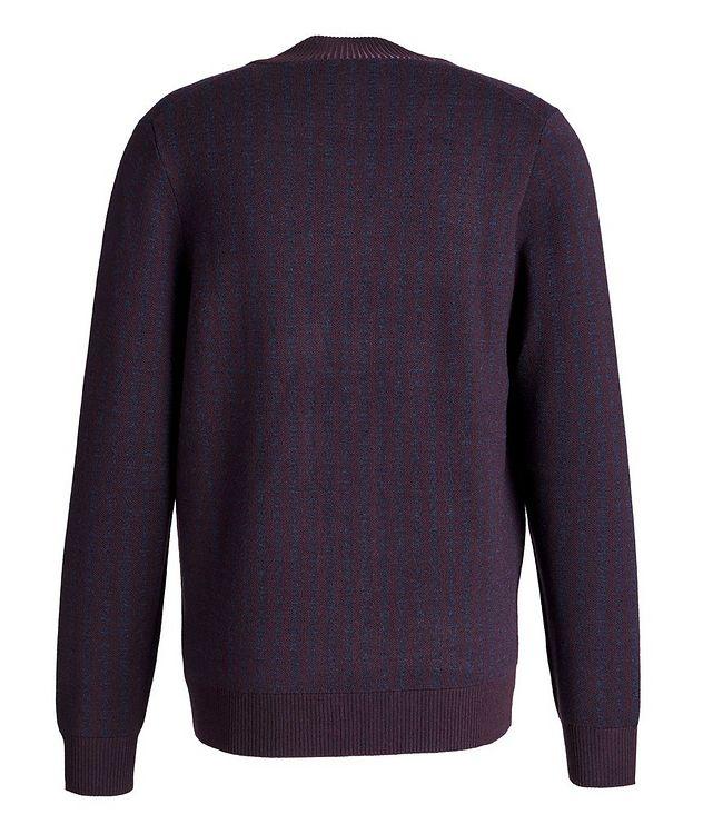 Zip-Up Extra-Fine Merino Sweater picture 2