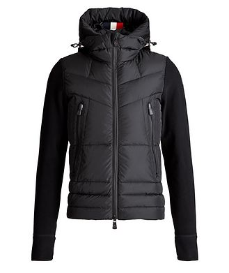Moncler Hooded Water-Repellent Sweater