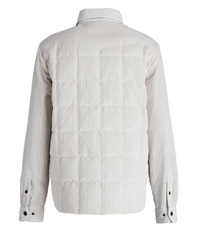 Grenoble Après-Ski Corduroy Down Shirt Jacket picture 2
