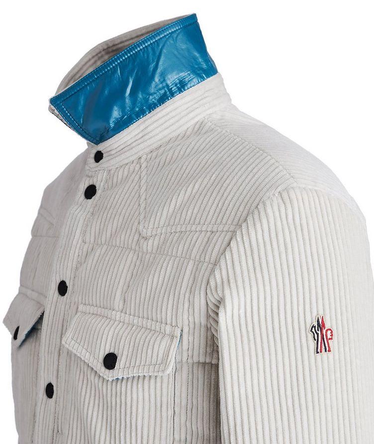 Grenoble Après-Ski Corduroy Down Shirt Jacket image 2