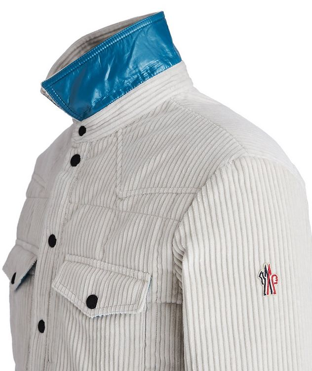 Grenoble Après-Ski Corduroy Down Shirt Jacket picture 3