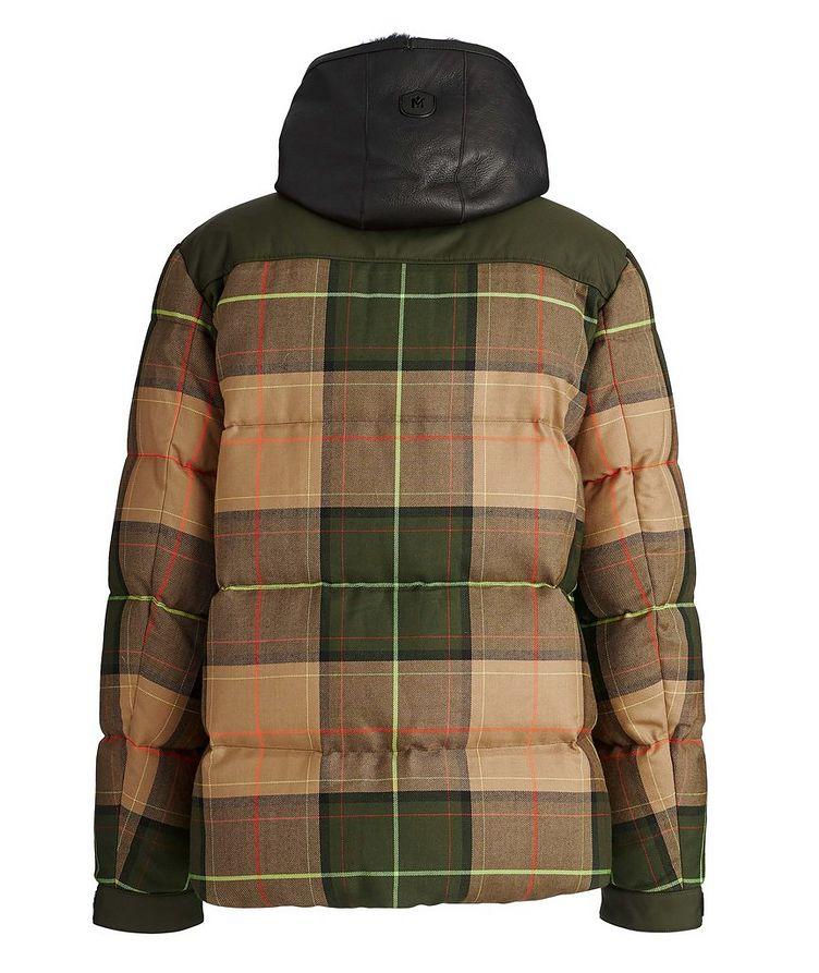 Riley Tartan Puffer Jacket image 1