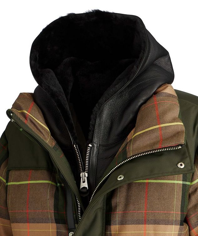 Riley Tartan Puffer Jacket picture 3