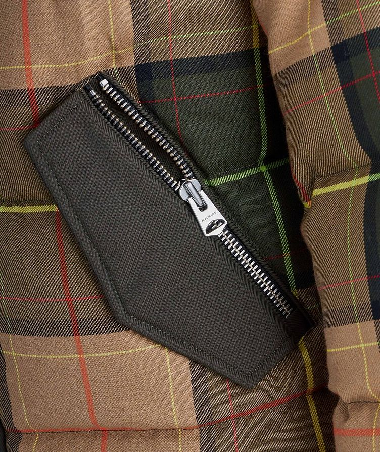 Riley Tartan Puffer Jacket image 3