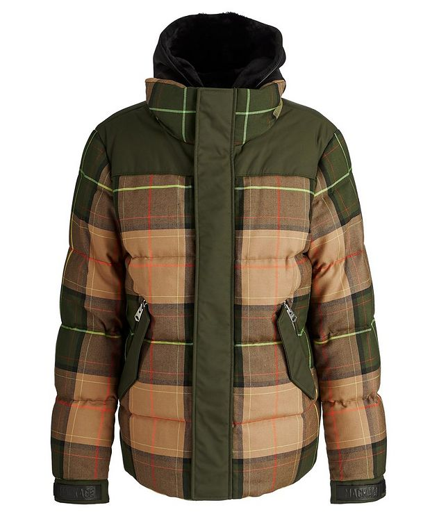 Riley Tartan Puffer Jacket picture 1