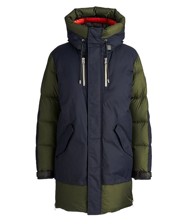 Simon Quilted-Down Parka picture 1