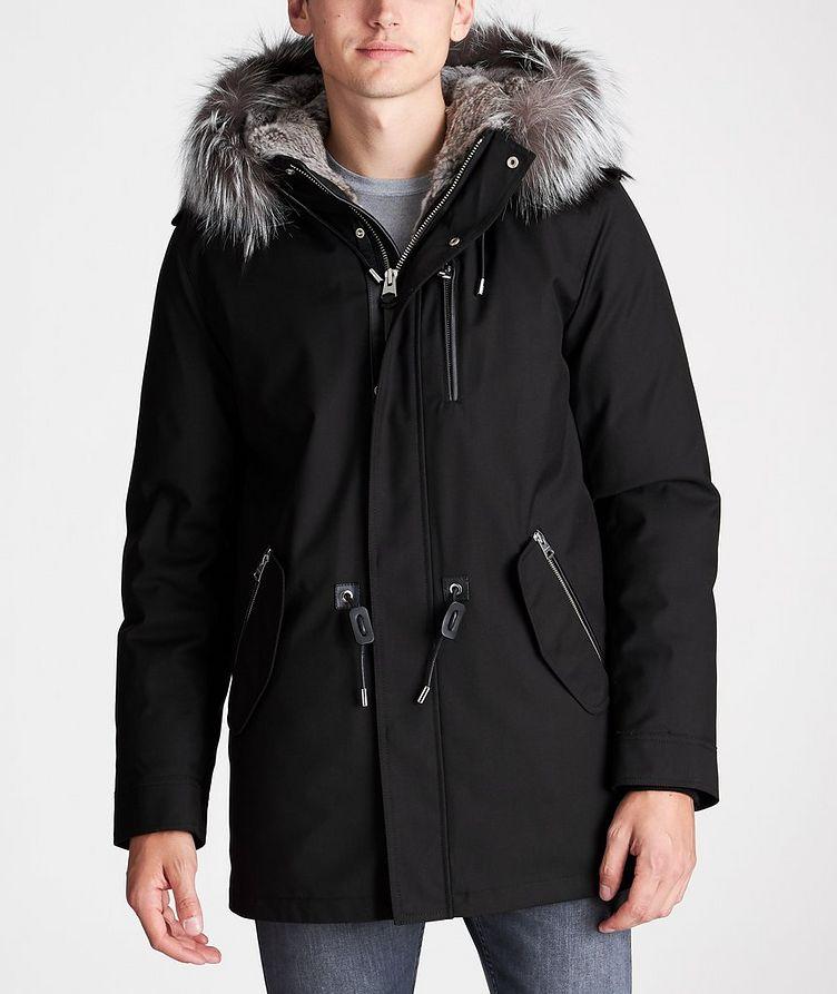 Manteau Seth à doublure en fourrure image 1