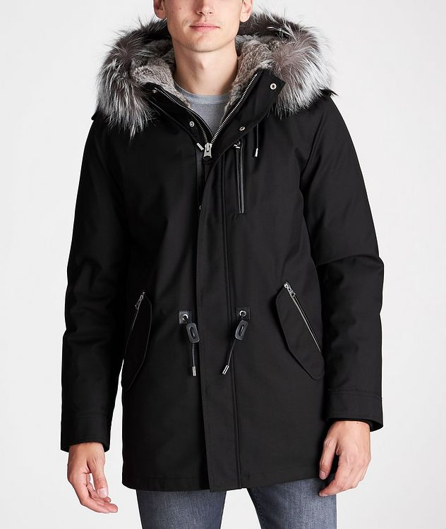 Manteau Seth à doublure en fourrure picture 2