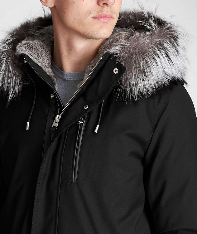 Seth Fur-Lined Parka picture 5