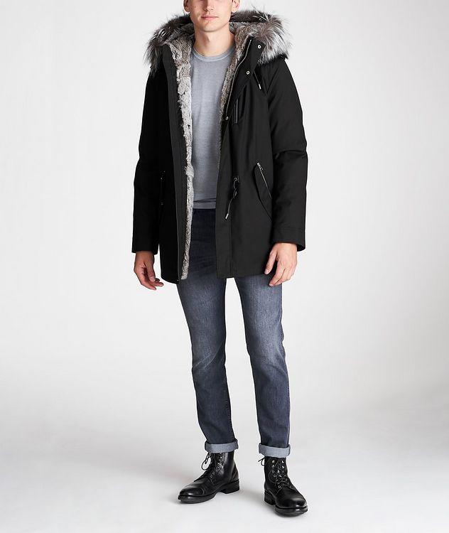 Manteau Seth à doublure en fourrure picture 7