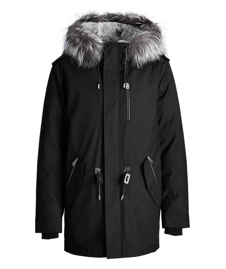 Manteau Seth à doublure en fourrure image 0