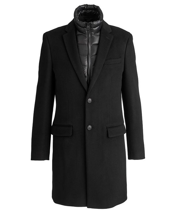 Skai Three-In-One Wool-Cashmere Overcoat picture 1
