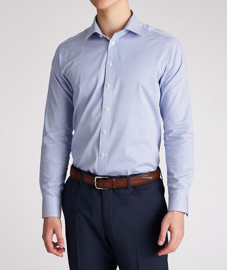 Contemporary-Fit Striped Dress Shirt image 1