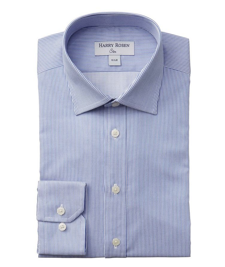 Contemporary-Fit Striped Dress Shirt image 0