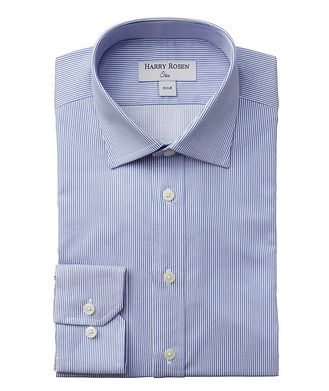Harry Rosen Contemporary-Fit Striped Dress Shirt