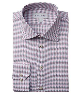 Harry Rosen Contemporary-Fit Geometric Cotton Dress Shirt
