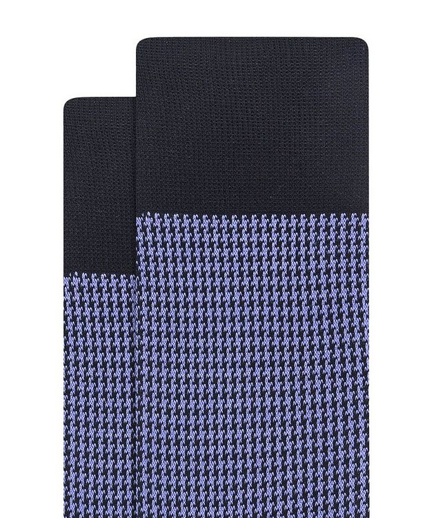 Houndstooth Cotton Socks picture 2