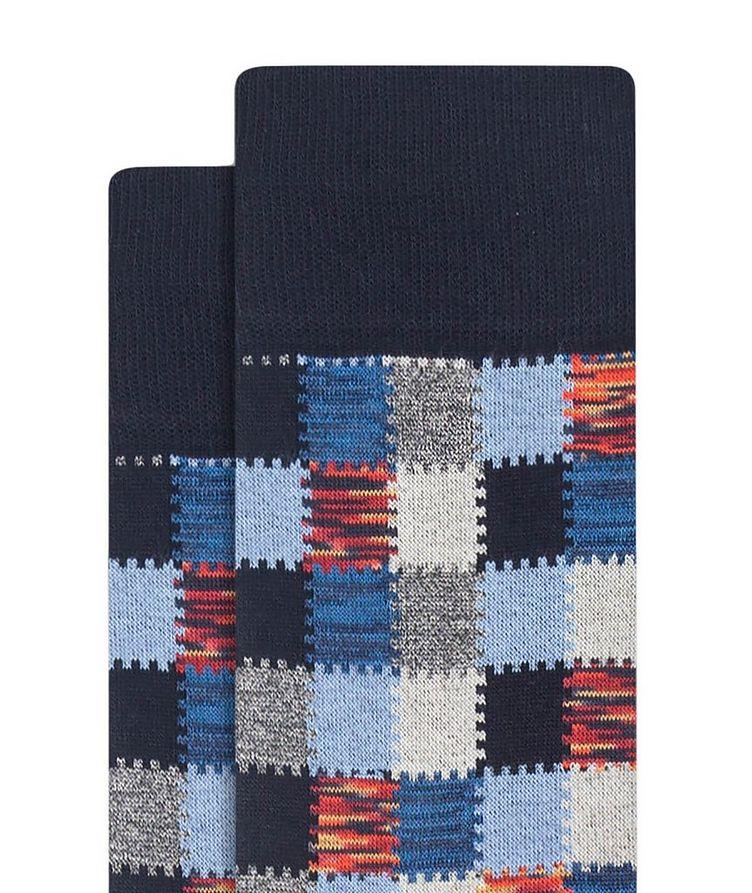 Patchwork Cotton Socks image 1